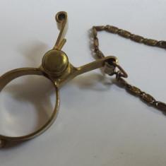 Vechi si Rar Lant pentru Ceas de buzunar Vintage executat manual de Colectie - Ceas de buzunar vechi