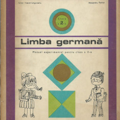 Grete Klaster-Ungureanu, Alexandru Roman - Limba germana. Manual experimental - Curs Limba Germana Altele