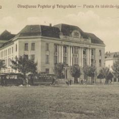 TIMISOARA, DIRECTIUNEA POSTELOR SI TELEGRAFELOR - Carte Postala Banat dupa 1918, Necirculata, Printata