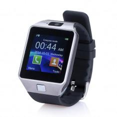 Ceas Telefon Smartwatch DZ09 cu Cartela Sim GSM si Camera Model 2016