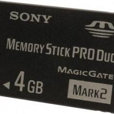 SONY Pro Duo 4GB pentru PSP USB Flash Drive MSMT4GN-PSP - Card memorie Sony, Micro SD