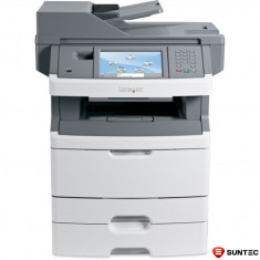 Imprimanta Multifunctionala laser monocrom Lexmark x466de 34S7904 + tava suplimentara bonus (cartus 15000 pagini), ambalaj original