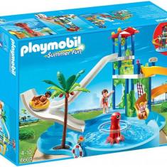 Parc Acvatic Cu Tobogane Playmobil