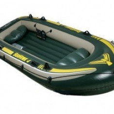 Barca Pescuit - Barca gonflabila pentru patru persoane Intex 68350