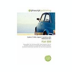 Fiat 500 - Carte Literatura Engleza