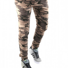 Pantaloni tip ZARA MAN CAMUFLAJ - pantaloni barbati - LICHIDARE DE STOC - 6256
