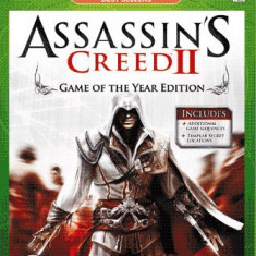 Jocuri Xbox 360, Actiune, 16+, Single player - Assassins Creed II (Assassin's Creed 2) - GOTY - Joc ORIGINAL - XBOX 360