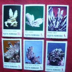 Serie Flori de Mina 1985 Romania, 6 val. - Timbre Romania, Nestampilat