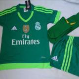 ECHIPAMENTE FOTBAL PORTAR REAL MADRID, MARIMI 10 - 14 ANI, LIVRARE GRATUITA - Echipament portar fotbal Adidas, Copii