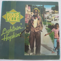 Lightnin' Hopkins – Blues Ville _ vinyl(LP, album) Germania - Muzica Blues Altele, VINIL