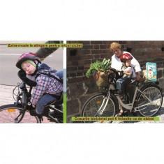 Scaun De Bicicleta Deluxe Cu Bara Suplimentara Weeride