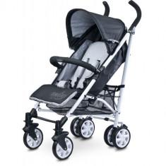 Carucior Sport Moby Grey - Carucior copii 2 in 1 Caretero