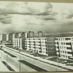 Onesti - blocuri comuniste - magistrala 2 - 2+1 gratis - RBK12517 - Carte Postala Oltenia dupa 1918, Circulata, Fotografie