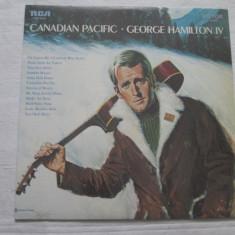 George Hamilton IV – Canadian Pacific _ vinyl(LP, album) SUA - Muzica Country rca records, VINIL