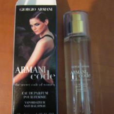PARFUM 40 ML ARMANI CODE ---SUPER PRET, SUPER CALITATE! - Parfum femeie