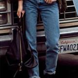 CL559 Jeans Boyfriend cu aspect uzat