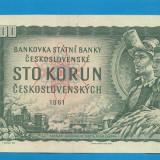 bancnota europa - Cehoslovacia 100 korun 1961 5