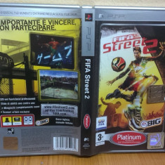FIFA Street 2 (PSP) (ALVio) + sute de Jocuri PSP Ea Sports, Sporturi, 3+