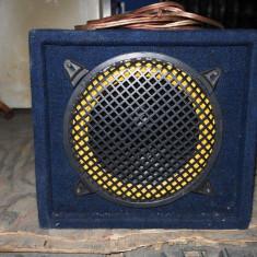 Subwoofer auto - Tub de bas + cabluri