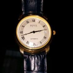 Ceas automatic elvetian ROYCE placat aur mecanism ETA 2824-2 - Ceas barbatesc Rolex