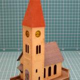 Biserica scara HO(5365) - Macheta Feroviara