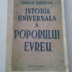 Istorie - SIMON DUBNOV - Istoria universala a poporului evreu, volumul 5 [1946]