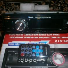 Mp3 auto cu bluetooth cu usb cu ecran LCD si telecomanda - CD Player MP3 auto