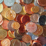 LICITATIE DE LA 1 EU = 1000 MONEDE DIVERSE STRAINE + ROMANESTI: COLECTIE!!!