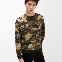 Bluza barbati camuflaj zara - model Army nou
