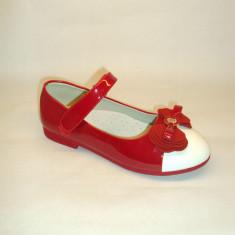 Pantofi rosii de lac fetite 31-36 - Pantofi copii, Fete
