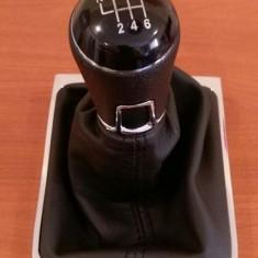 Nuca, manson+rama cromata pentru schimbatorul de viteze VW passat - Schimbator viteze Tuning