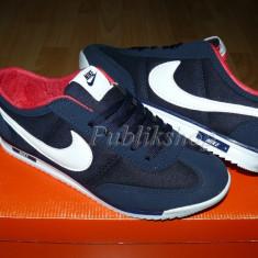 Adidasi barbati Nike, Piele sintetica - Adidasi Nike SL navy/alb