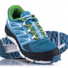 Salomon X-Wind PRO (dama), boss blue, trail running, toate marimile! - Adidasi dama Salomon, Marime: 38, 40, 37 1/3, 38 2/3, 39 1/3, Culoare: Bleu, Textil