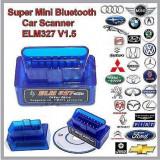 Interfata Diagnoza Universal Super Mini Elm327 bluetooth OBD2, Versiunea V2.1! - Interfata diagnoza auto