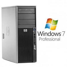 Sisteme desktop fara monitor - PC Refurbished HP Z400 W3520 12Gb DDR3 Windows 7 Pro
