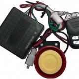 Alarma moto scuter cu pornire - 2 telecomenzi