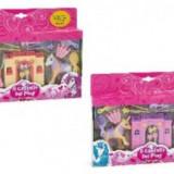 Set de joaca 2 ponei cu castel si accesorii