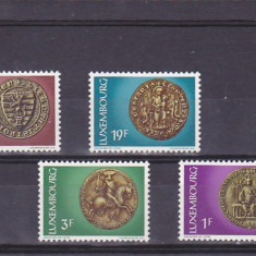 Monede vechi, numismatica, Luxemburg. - Timbre straine, Nestampilat