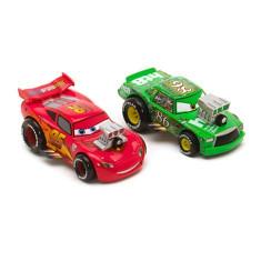 Masinuta de jucarie - Set masinute Disney Pixar Cars McQueen si Chick Hicks