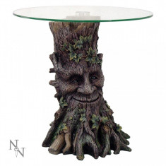 Masa living - Măsuță sticlă Spiritul pădurii