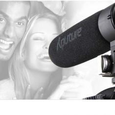 Microfon supercardioid Aputure V-MIC D2 pentru aparate foto si camere video - Microfon Camera Video