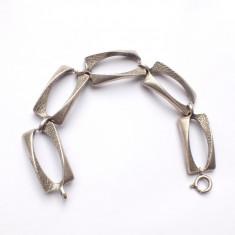 Bratara modernista argint 925