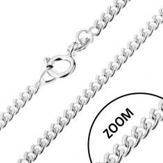 Lănțișor cu elemente de legătură răsucite ovale, argint 925, 1, 7 mm - Lantisor aur