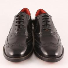 Candrani Oxford Negru - Pantofi barbati
