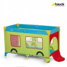 Pat Voiaj Dream'n Play Go Plus Jungle Fun - Patut pliant bebelusi Hauck, 120x60cm