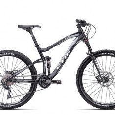 Biciclete Full Suspension CTM Rawer Xpert, 2016, cadru MD, negru mat / gri Cod Produs: 035.12 - Mountain Bike