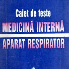 Caiet de teste - Medicina interna. Aparat respirator - Autor(i): Florina Filip - Carte Diagnostic si tratament