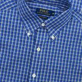 Camasa Ralph Lauren | Maneca lunga | Colectia noua M L - Camasa barbati Ralph Lauren, Culoare: Albastru