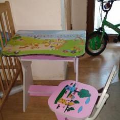 Birou cu scaunel pentru copii - Masuta/scaun copii Altele