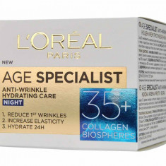 L'OREAL AGE SPECIALIST +35 NOAPTE - Crema antirid